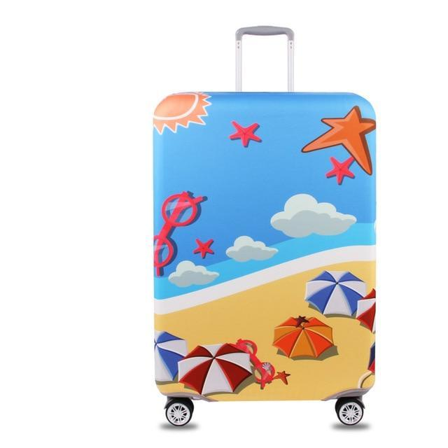 Sparkle Red Travel Accessories M / S Elegant Suitcase Protective Cover 5:361386;5:100014064