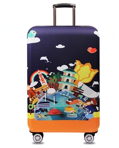 Sparkle Red Travel Accessories R / S Elegant Suitcase Protective Cover 14:201335404;5:100014064