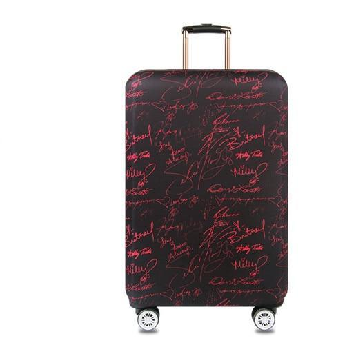 Sparkle Red Travel Accessories Z / S Elegant Suitcase Protective Cover 14:200004890;5:100014064