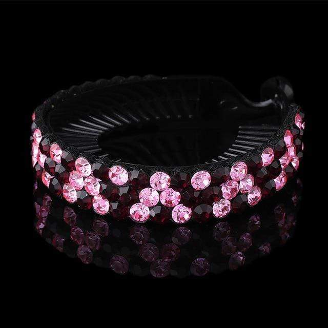 Sparkle Red Women's Hair Accessories L / Medium Rhinestone Flower Hairpin 14:496;5:361386