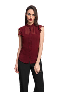 BEMBA Button Down Top