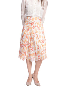 Bongo Bird of Paradise Midi Skirt