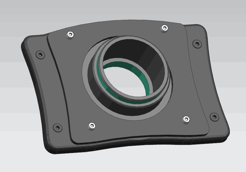 DiscoScan Lens Mount for Elite 2W and 3W laser systems