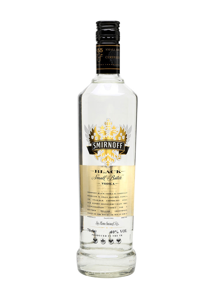 Smirnoff - Black Vodka 70cl