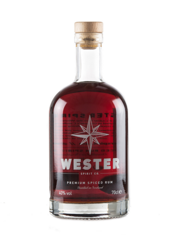 Wester Spirit Co - Premium Spiced Rum 70cl