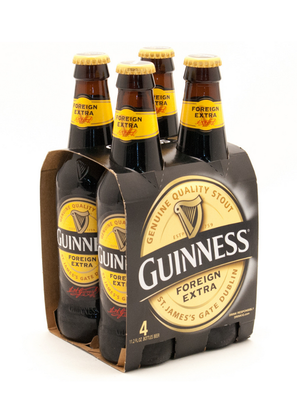 Guinness Foreign Extra Stout - Beer 4x325ml