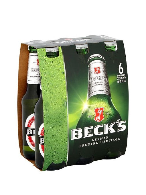 Becks - Pilsner 6 x 275ml