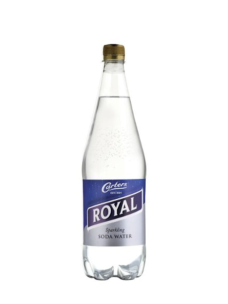 Carters - Royal Soda Water 1L