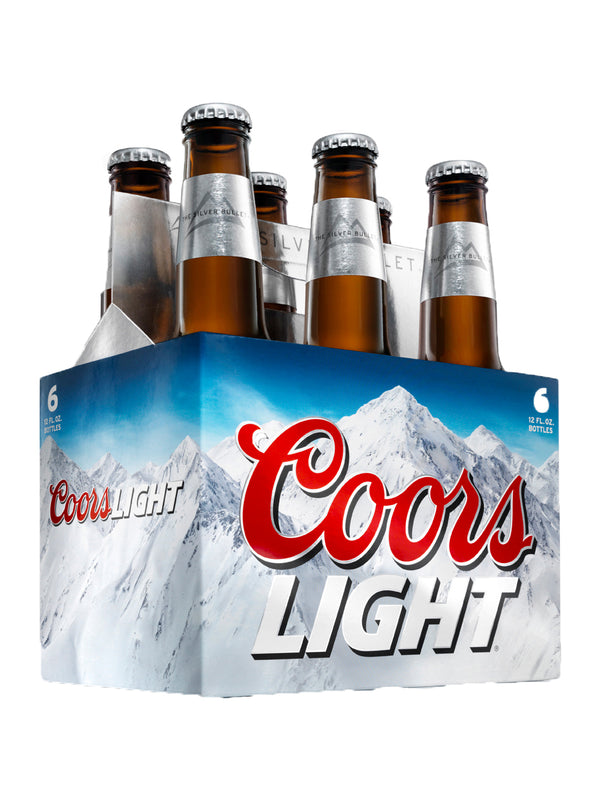 Coors Light - Lager 6 x 330ml