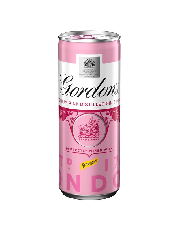 Gordon's - Pink Gin & Tonic 250ml