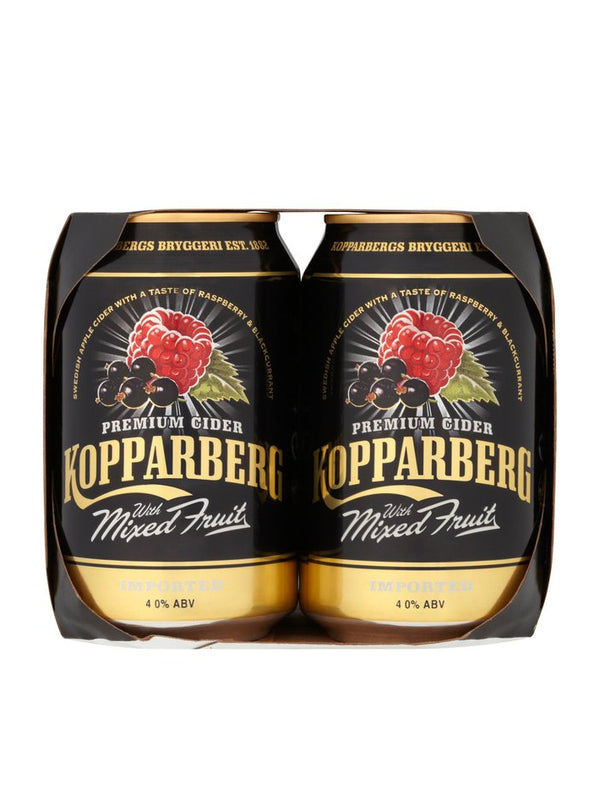 Kopparberg - Mixed Fruits Cider 4 x 330ml
