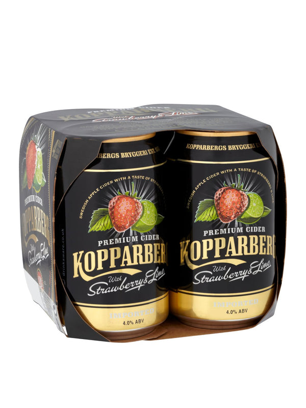 Kopparberg - Strawberry & Lime Cider 4 x 330ml
