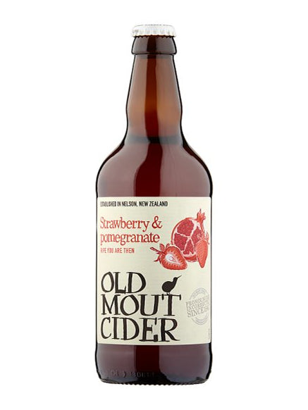 Old Mout - Strawberry and Pomegranate Cider 500ml