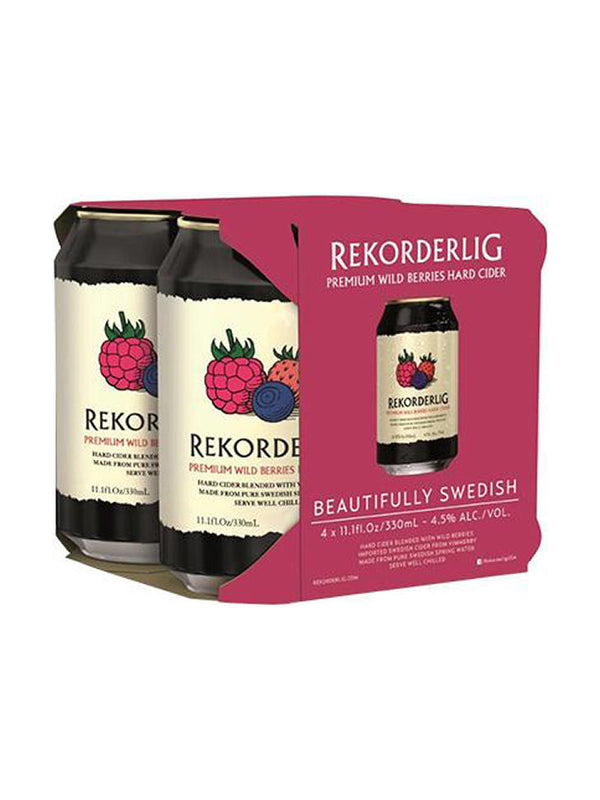 Rekorderlig - Wild Berries Cider 4 x 330ml
