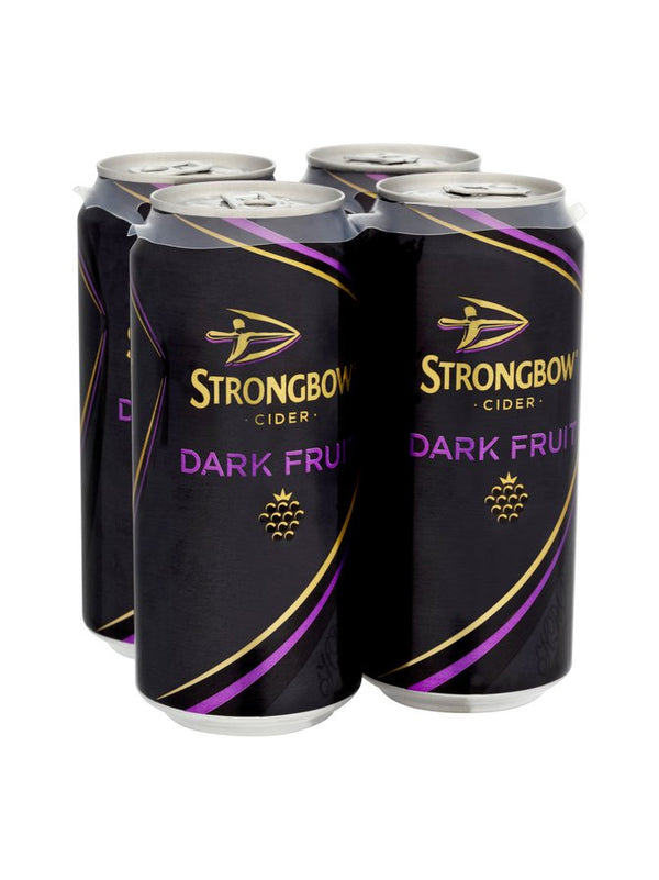 Strongbow - Dark Fruit Cider 4 x 440ml