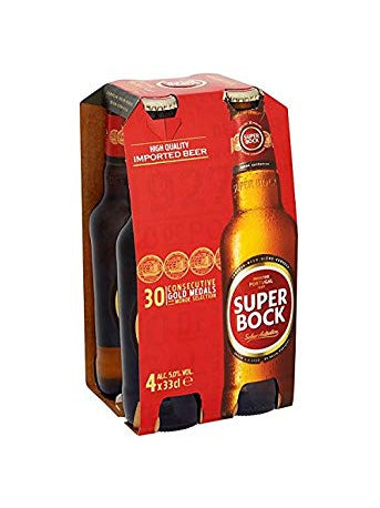 Super Bock - Lager 4 x 330ml