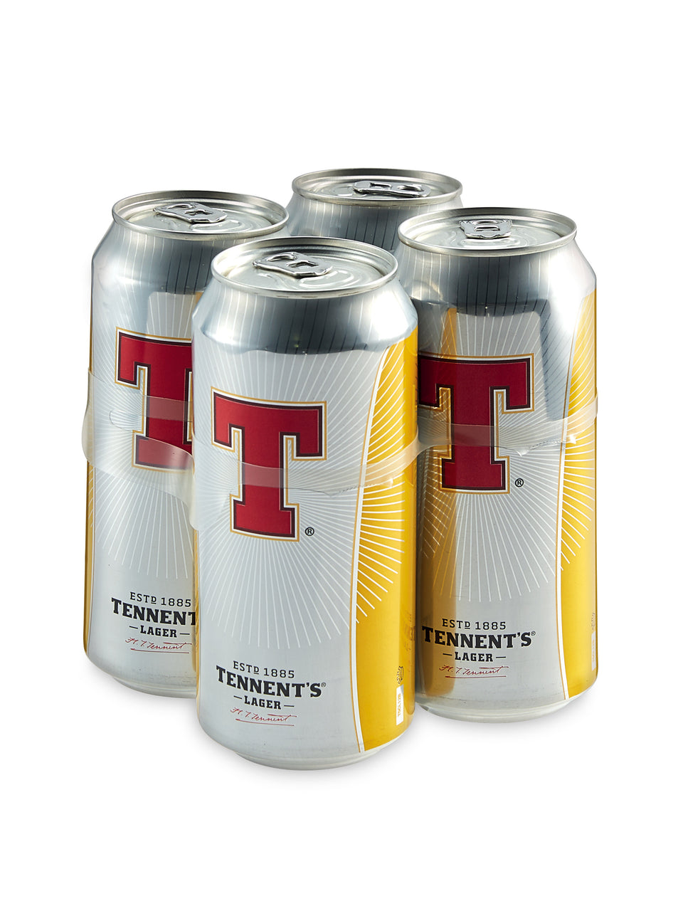 Tennents - Lager 4 x 500ml