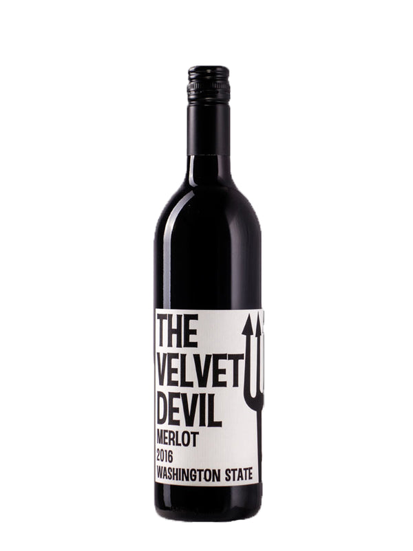 The Velvet Devil - Merlot 2016 Wash 75cl
