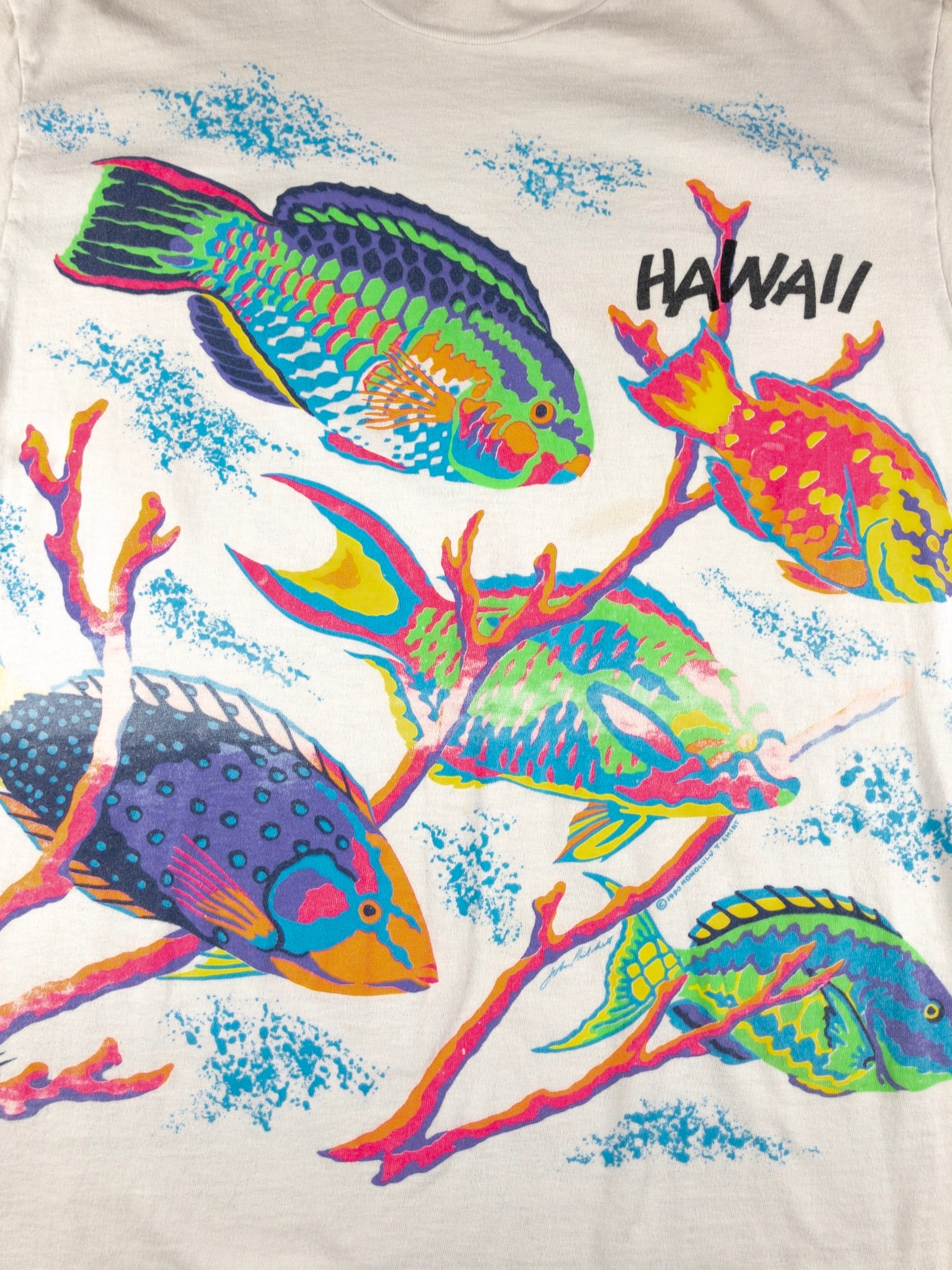 Vintage Hawaii Tropical Fish T-shirt