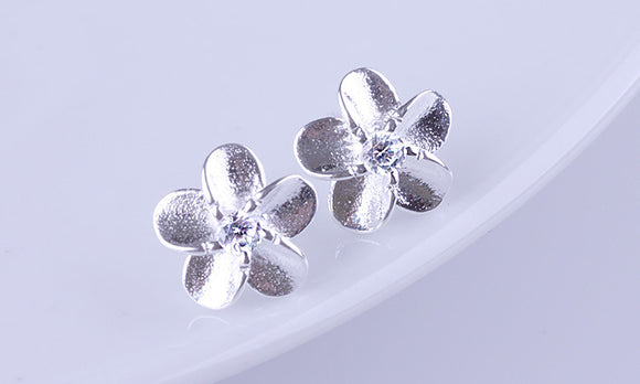 Crystal Jewelry Wild Flower Earrings