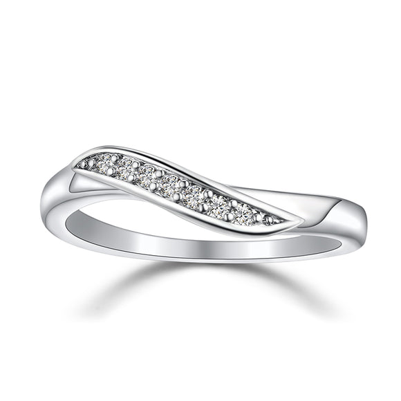 Silver Diamond Ring Offer