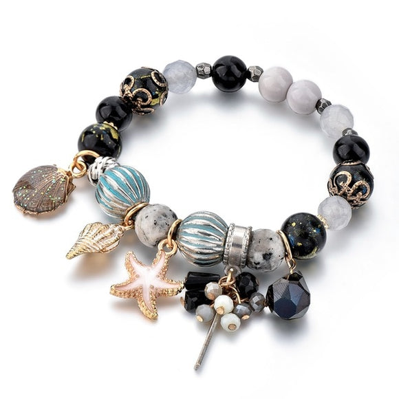 Conch & Starfish Bracelets