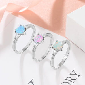 Eternal Opal Rings