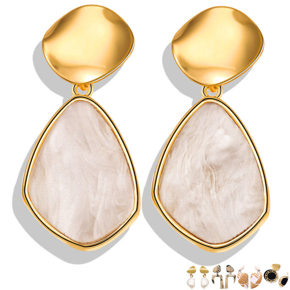 Gold Earrings (25 Different Styles)