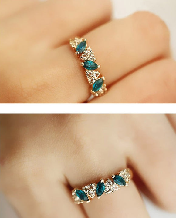 Crystal Vintage Ring