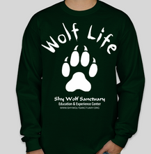 Load image into Gallery viewer, Wolf Life Unisex Long Sleeve Shirts