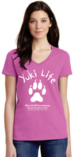 Load image into Gallery viewer, Yuki Life Ladies V-Neck Shirts