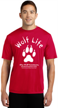 Load image into Gallery viewer, Wolf Life Unisex Dry-Fit Shirts