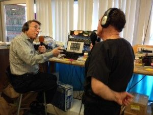 Michael Schwartz with Dr. Koontz on KNFX