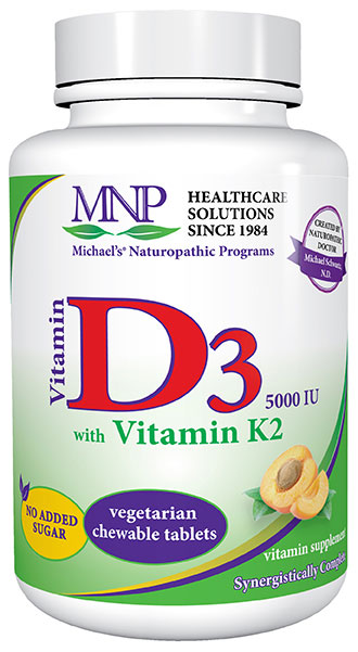 Vitamin D with Vitamin K chewable tablets by Michael's Health