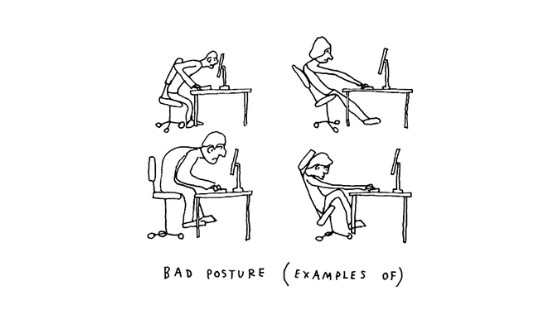 Common Improper Typing Postures, Its Effects & How to Fix Them