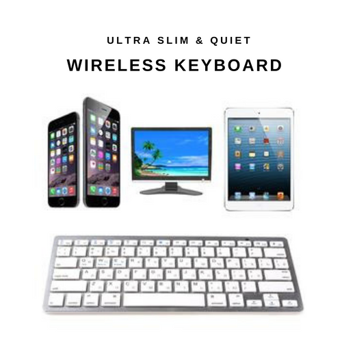 Wireless Ultra Slim & Quiet Keyboard