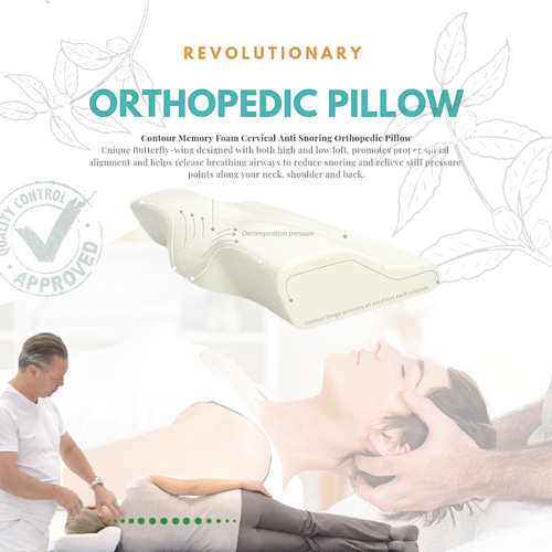DeepRest™ Orthopedic Cervical Pillow