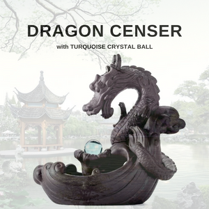 Dragon Censer with Blue Crystal Ball