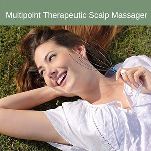 Multipoint Therapeutic Scalp Massager