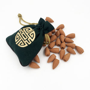 Incense Cones (45pcs) with pouch
