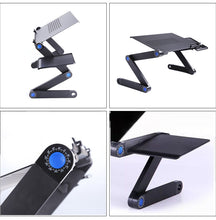 Load image into Gallery viewer, Ergonomic Portable & Adjustable Desk With Stand Tray