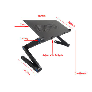 Ergonomic Portable & Adjustable Desk With Stand Tray