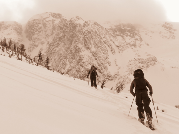 Backcountry Skiing in British Columbia