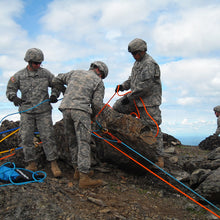 Load image into Gallery viewer, Military team practicing rope rescue