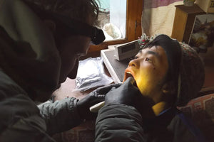 Wilderness First Responder (WFR) students learn how to deal with dental emergencies in remote and wilderness environments.