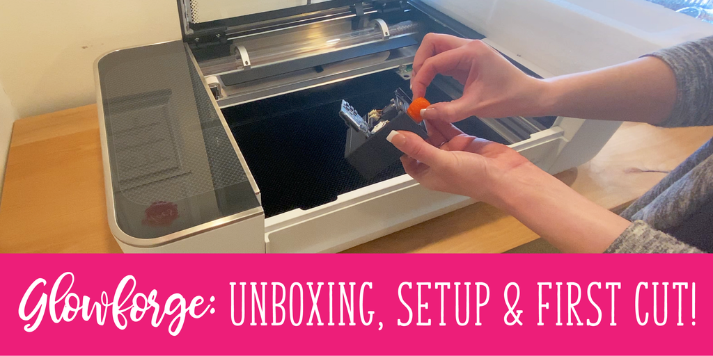 Glowforge: Unboxing, Setup & First Cut!