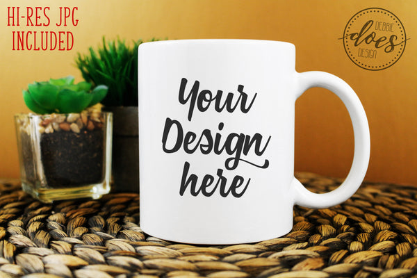 White 11oz Mug Mockup Bundle
