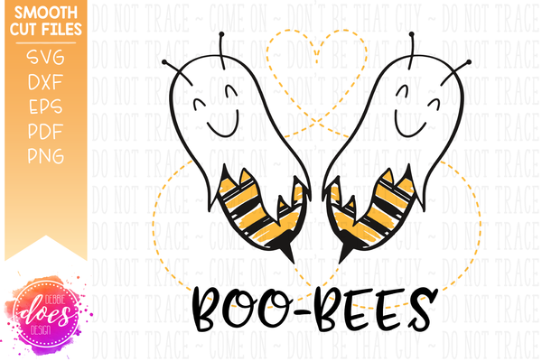 Boo-Bees - Bee Ghosts - SVG File