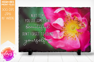 Count Yourself In - Photo Design - Sublimation/Printable Design