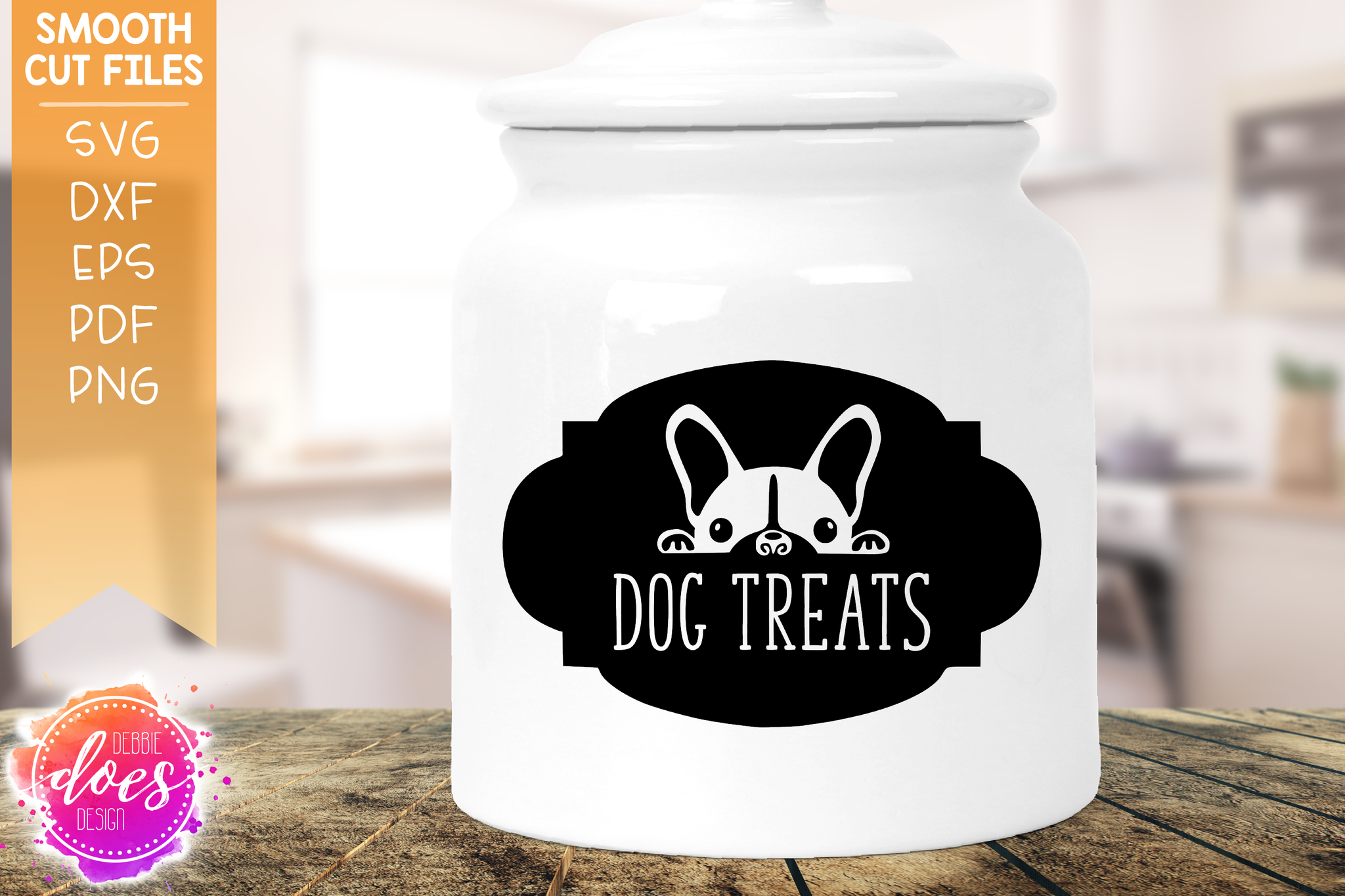 Dog Treats Framed - SVG File